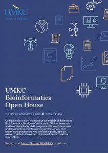 UMKC Bioinformatics Open House