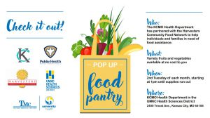 Pop Up Pantry: Free Produce for anyone in need of food assistance @ KCMO Health Department