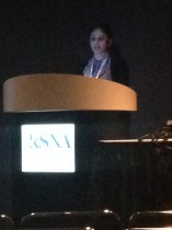 UMKC student presents research at RSNA