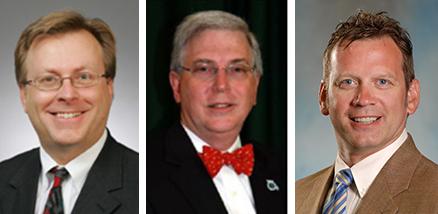 William Fish, M.D.,; Dan Purdokm, M.D.; and Todd Shaffer, M.D.