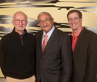 W. Kendall McNabney, M.D., Peter Rosen, M.D. (Speaker) and Matt Gratton, M.D.