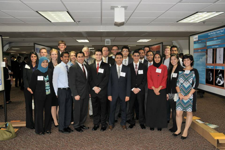 Students and residents competed at the 2013 Missouri Chapter of the American Chest Physicians Scientific Meetings on Sept. 26-29 in Osage Beach, Mo.