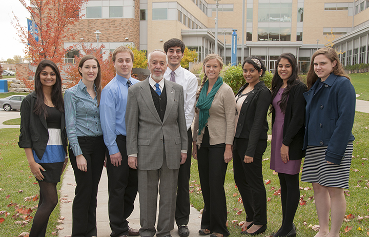 The School of Medicine has announced the recipients of the October 2013 Sarah Morrision Student Research Awards.