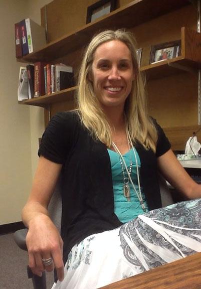 Kristy Stiegerwalt, School of Medicine clinical medical librarian