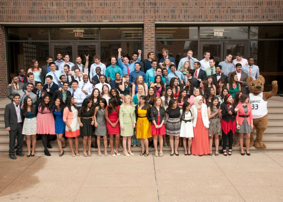 The School of Medicine Class of 2014 celebrates Match Day on March 21.