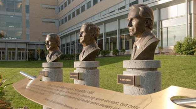 Our Founders: Nathan J. Stark, Homer C. Wadsworth and E. Grey Dimond, M.D.