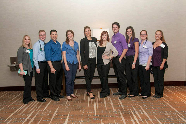 Students from the School of Medicine took part in the annual SimWars competition on Sept. 6 at the Society for Academic Emergency Medicine Great Plains Regional Forum in Kansas CIty.