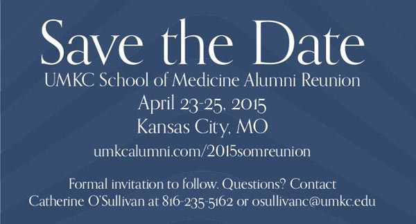 UMKC School of Medicine Alumni Reunion @ Various events. Please visit the website to view and register. | Unit A2 | United Kingdom