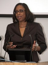 J. Nadine Gracia, M.D., M.S.C.E, deputy assistant secretary for minority health, presented the annual Dr. Reaner and Mr. Henry Shannon Lecture on Feb. 26 at the UMKC School of Medicine.