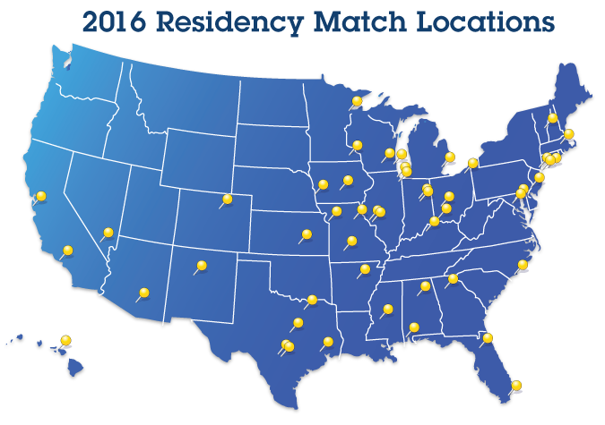 Match Day 2016 | UMKC School of Medicine
