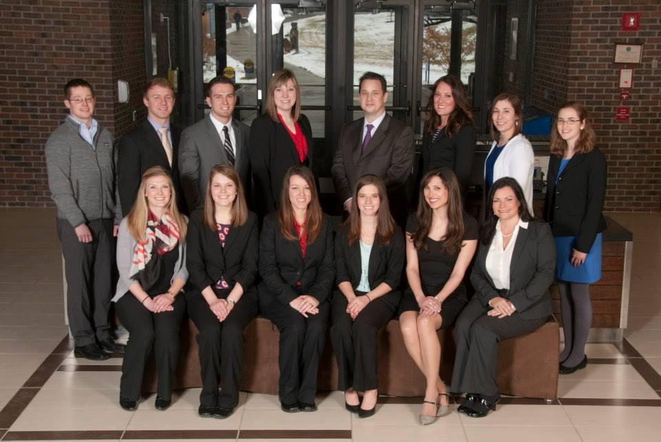The inaugural class of the Master's of Medical Science Physician Assistant program.