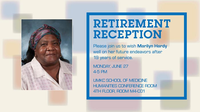 Retirement Reception: Marilyn Hardy @ Humanities Conference Room - 4th Floor, Rm. M4-C01 | United Kingdom