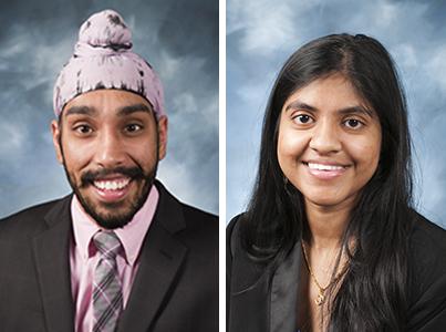 Amit Nanda and Himachandana Atluri