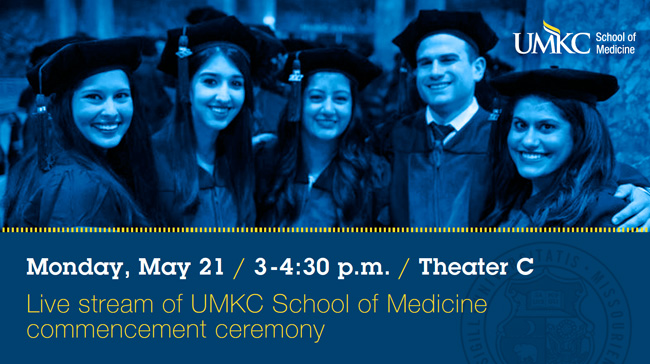 UMKC School of Medicine Commencement Spring 2018 @ Helzberg Hall @ Kauffman Center for the Performing Arts | Kansas City | Missouri | United States