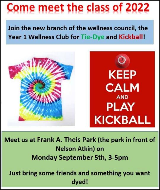 Come meet the Class of 2022 @ Frank A. Theis Park