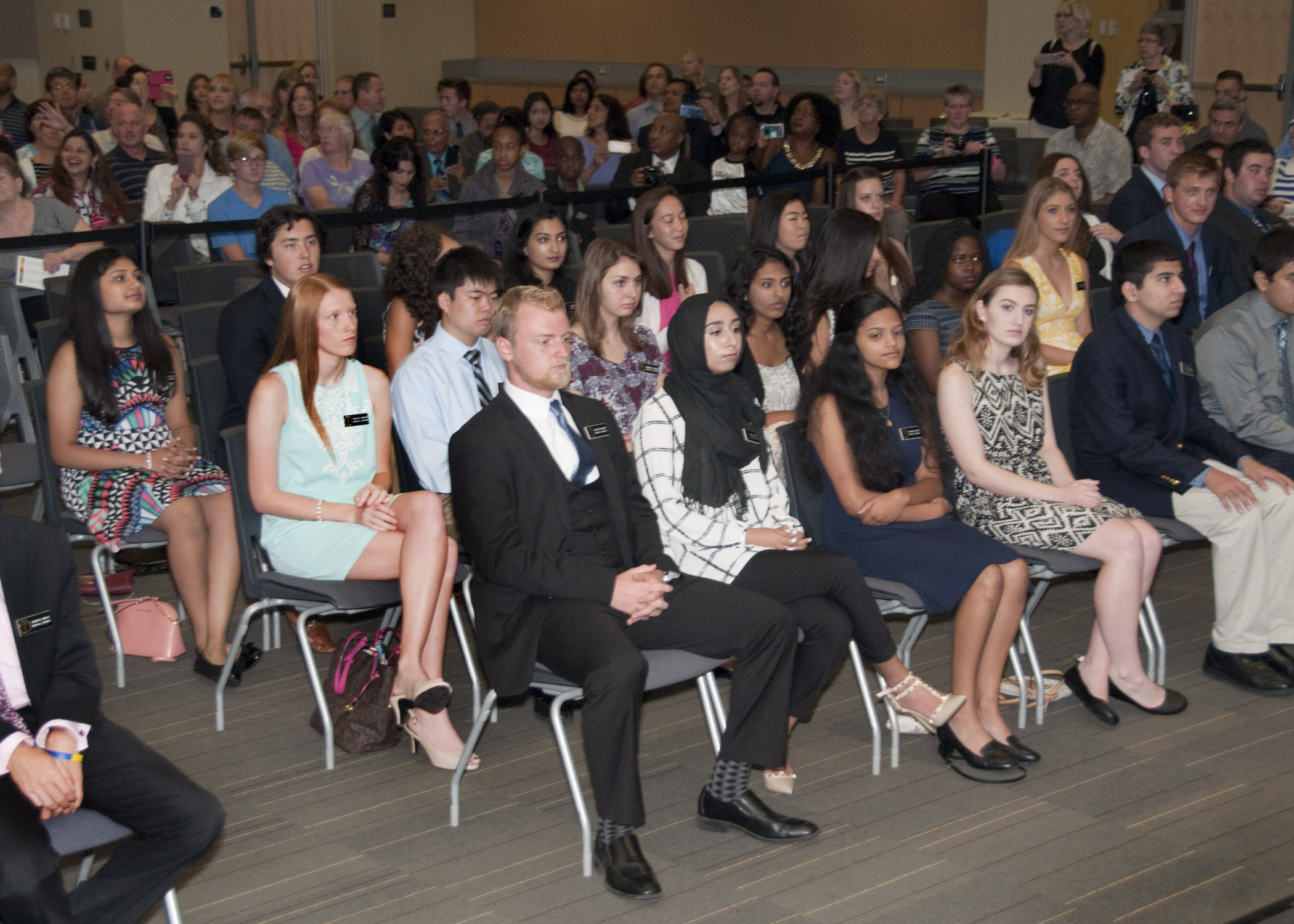 More than 100 students took part in the School of Medicine's 2016 InDOCtrination Ceremony on Aug. 19.
