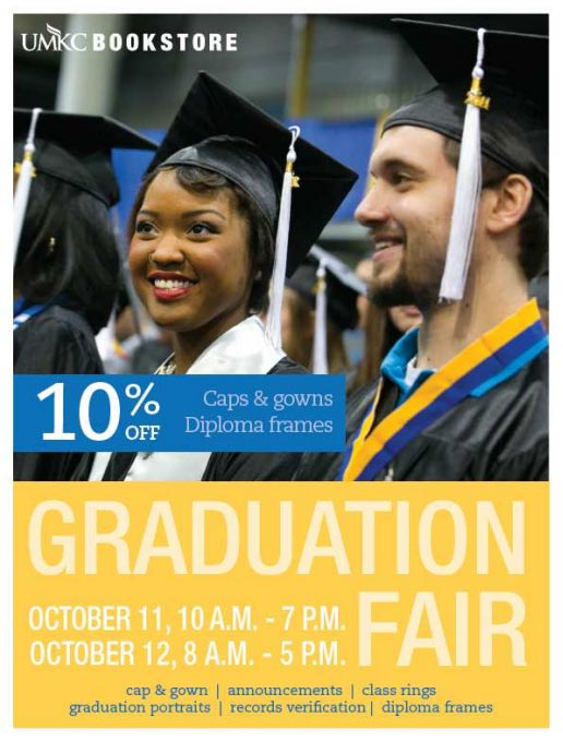 Graduation Fair - UMKC Bookstore - 2 days only! @ UMKC Bookstore | Kansas City | Missouri | United States