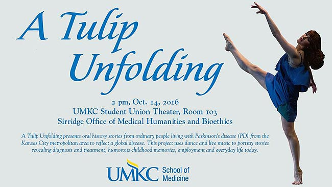 A Tulip Unfolding @ UMKC Student Union Theater, Rm. 103 | Kansas City | Missouri | United States