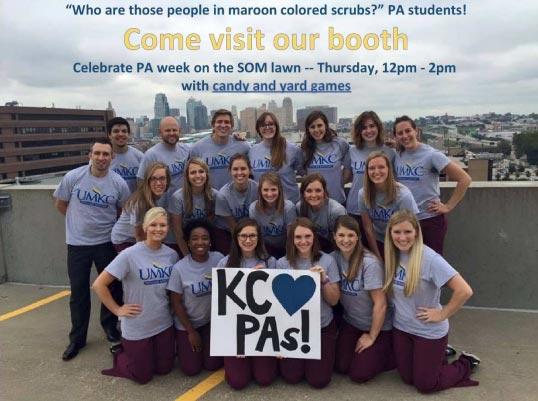 Celebrate PA Week - 2016! @ SOM lawn | Kansas City | Missouri | United States