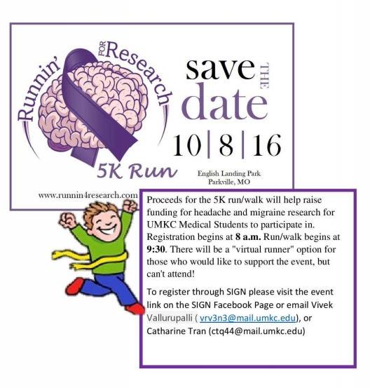 Runnin' for Research - 5K Run @ English Landing Park - Parkville, MO | Parkville | Missouri | United States