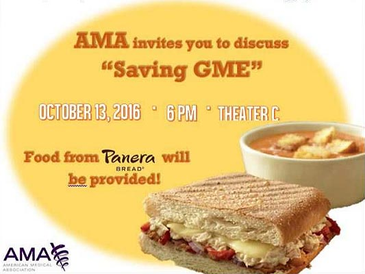 American Medical Association (AMA) - Discussion: Saving GME @ Theater C