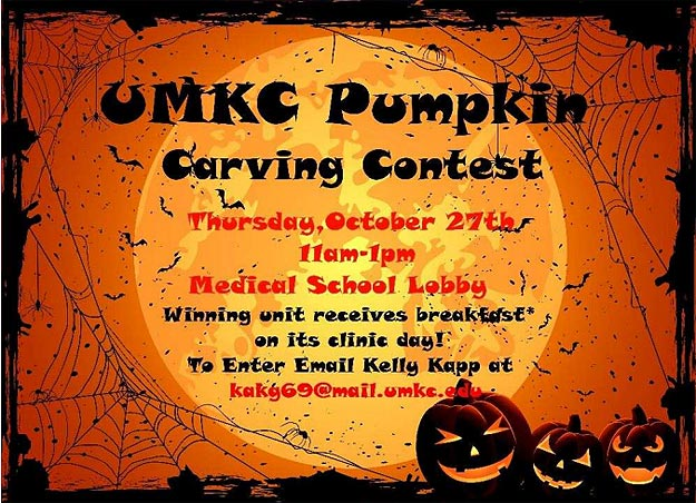 UMKC SOM - Pumpkin Carving Contest @ Medical School Lobby