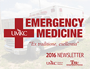 2016 Emergency Medicine newsletter