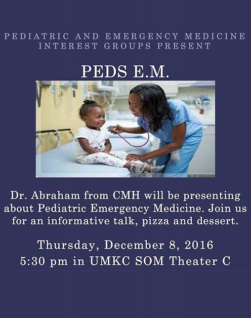 Peds & EM Interest Group @ Theater B
