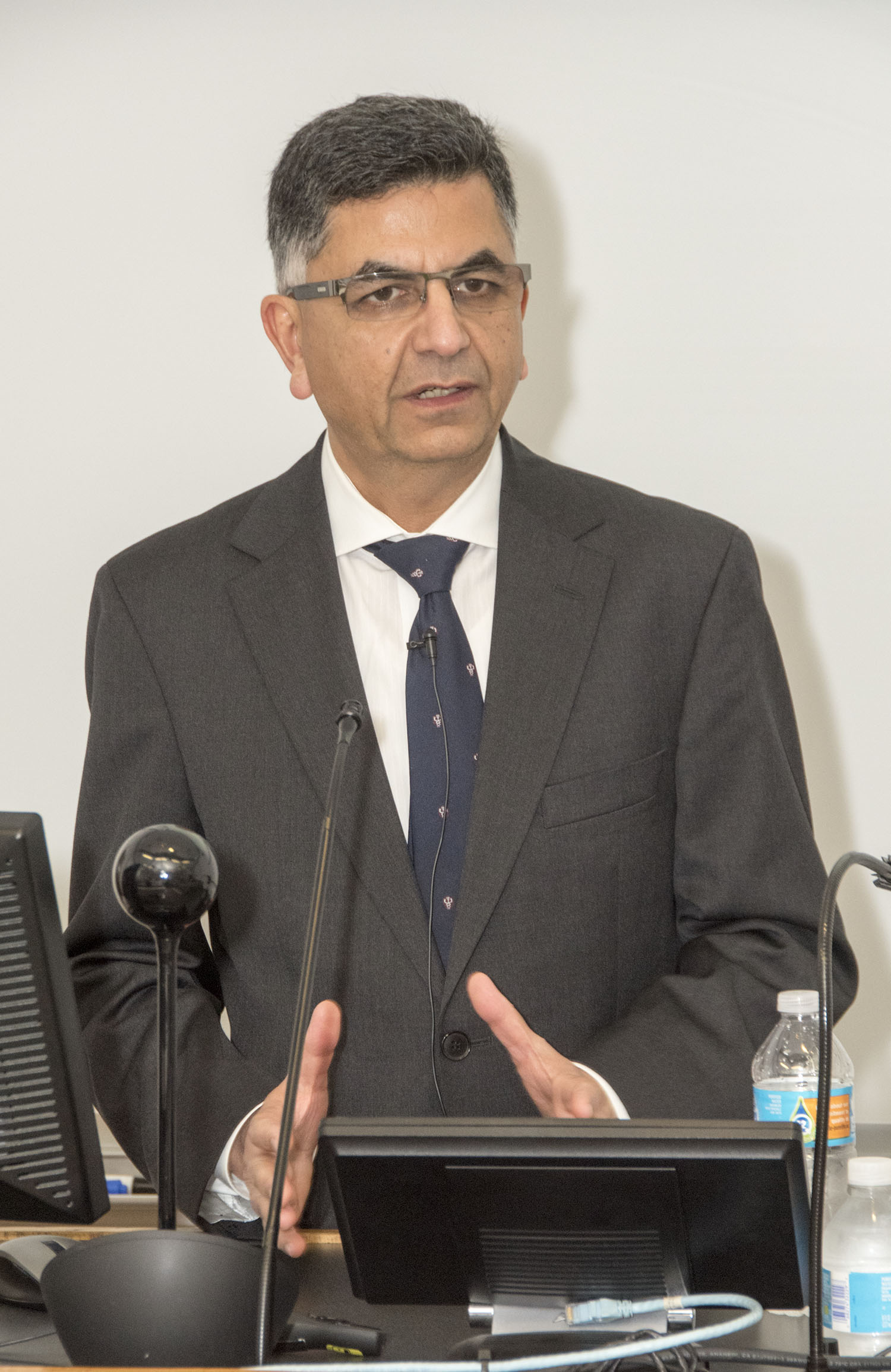Dr. Shalender Bhasin, M.B., B.S., delivered the 39th address in the Mark Dodge, M.D., Lectureship.