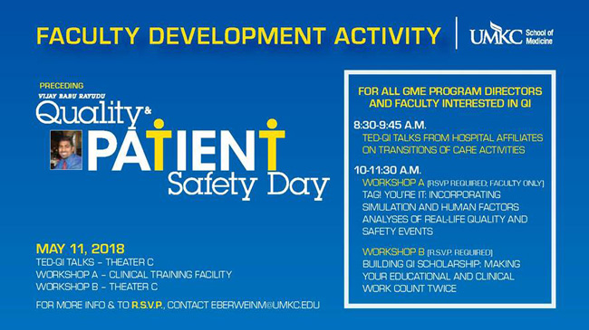 Quality Patient Safety Day - 2018 @ Theater C