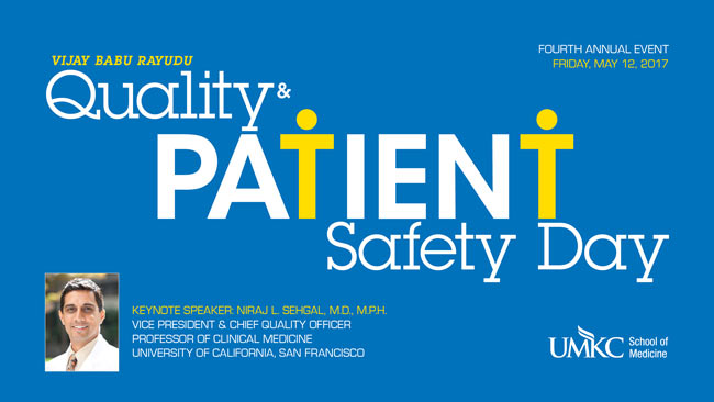 Quality Patient Safety Day - 2017 @ Theater C