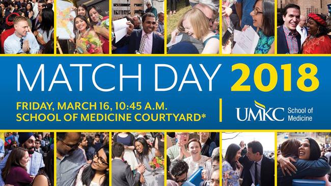 MATCH Day 2018 @ UMKC School of Medicine | Kansas City | Missouri | United States