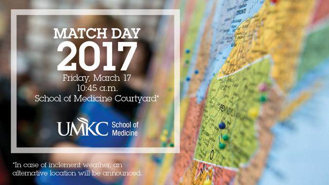 MATCH Day 2017 @ UMKC School of Medicine | Kansas City | Missouri | United States