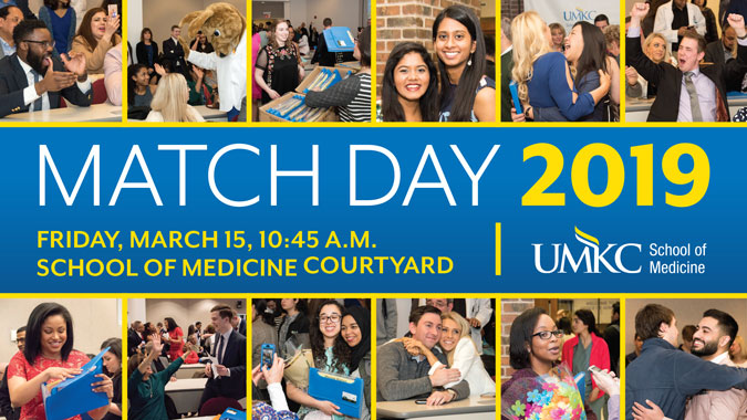 MATCH Day 2019 @ UMKC School of Medicine | Kansas City | Missouri | United States