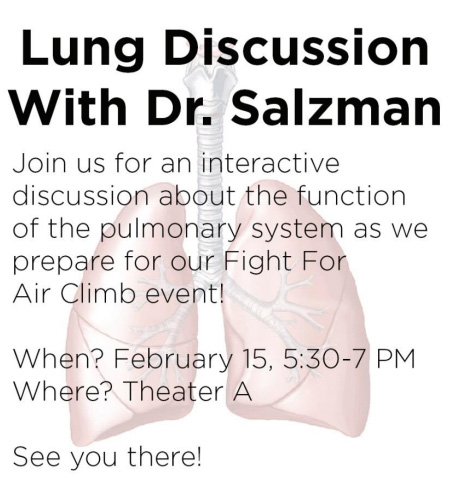 Roos On Call - Lung Discussion with Dr. Salzman @ Theater A