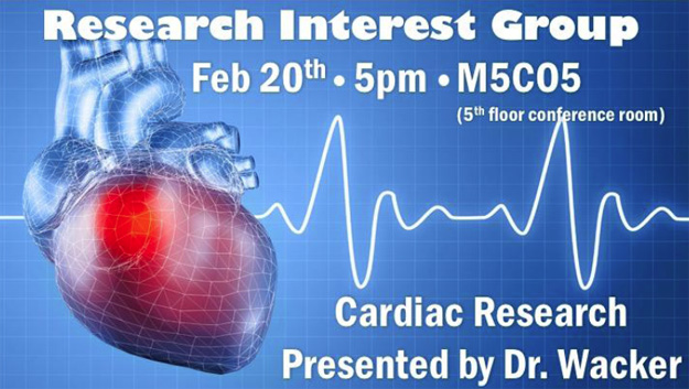 Research Interest Group: Cardiac Research @ M5-C05