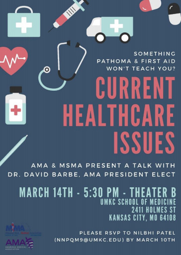 Current Healthcare Issues @ Theater A - RSVP (see below)