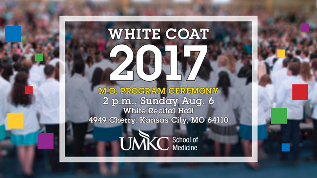 White Coat 2017 - M.D. Program Ceremony @ White Recital Hall (Volker Campus) | Kansas City | Missouri | United States