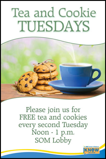 UMKC SOM Wellness - Tea & Cookie Tuesdays @ SOM Lobby