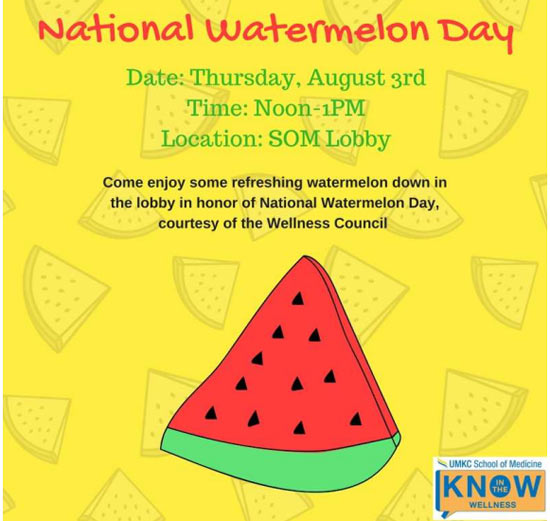 National Watermelon Day 2017 @ SOM Lobby