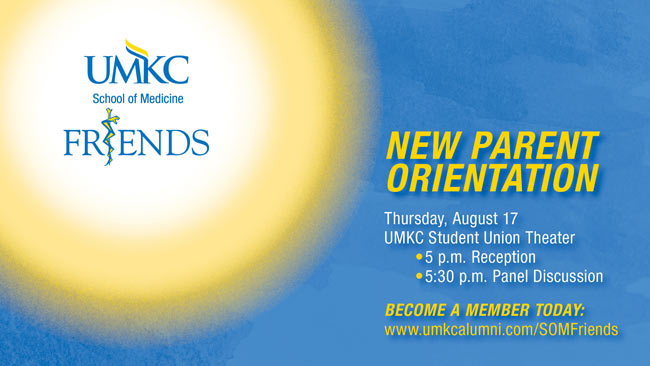 New Parent Orientation 2017 @ UMKC Student Union Theater | Kansas City | Missouri | United States