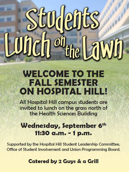 Students Lunch on the Lawn 2017! @ Lawn between SOM and HSB