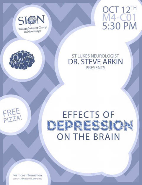Effects of Depression on the Brain - Dr. Steven Arkin @ M4-C01