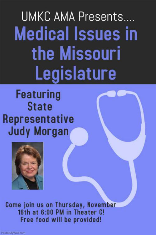 UMKC AMA Presents: Medical Issues in the Missouri Legislature @ Theater C