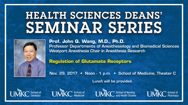 Health Sciences Deans' Seminar Series – John Q. Wang, M.D., Ph.D. @ Theater C
