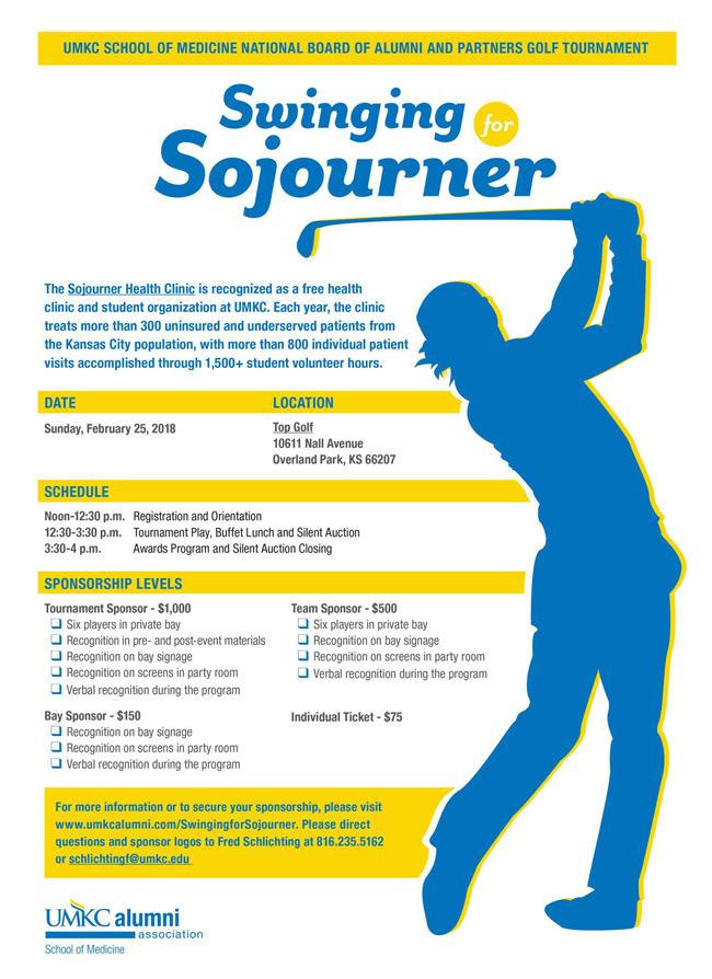 Swinging for Sojourner Golf Tournament @ Top Golf | Overland Park | Kansas | United States