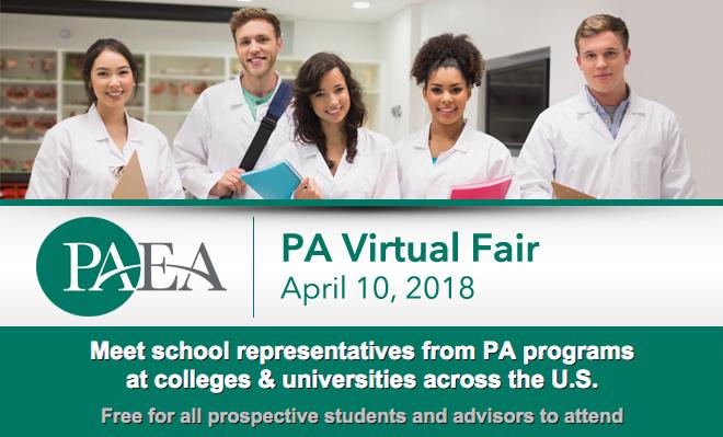 PA Virtual Fair - April 10, 2018