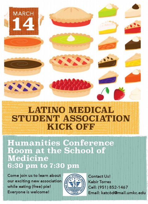 Latino Medical Student Association Kick Off @ Humanities Conference Rm., 4th Floor