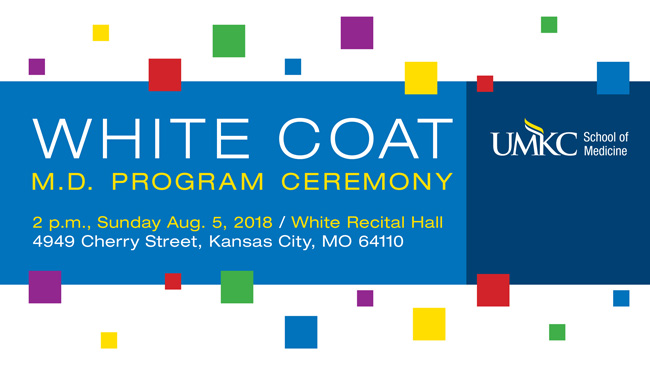 White Coat 2018 – M.D. Program Ceremony