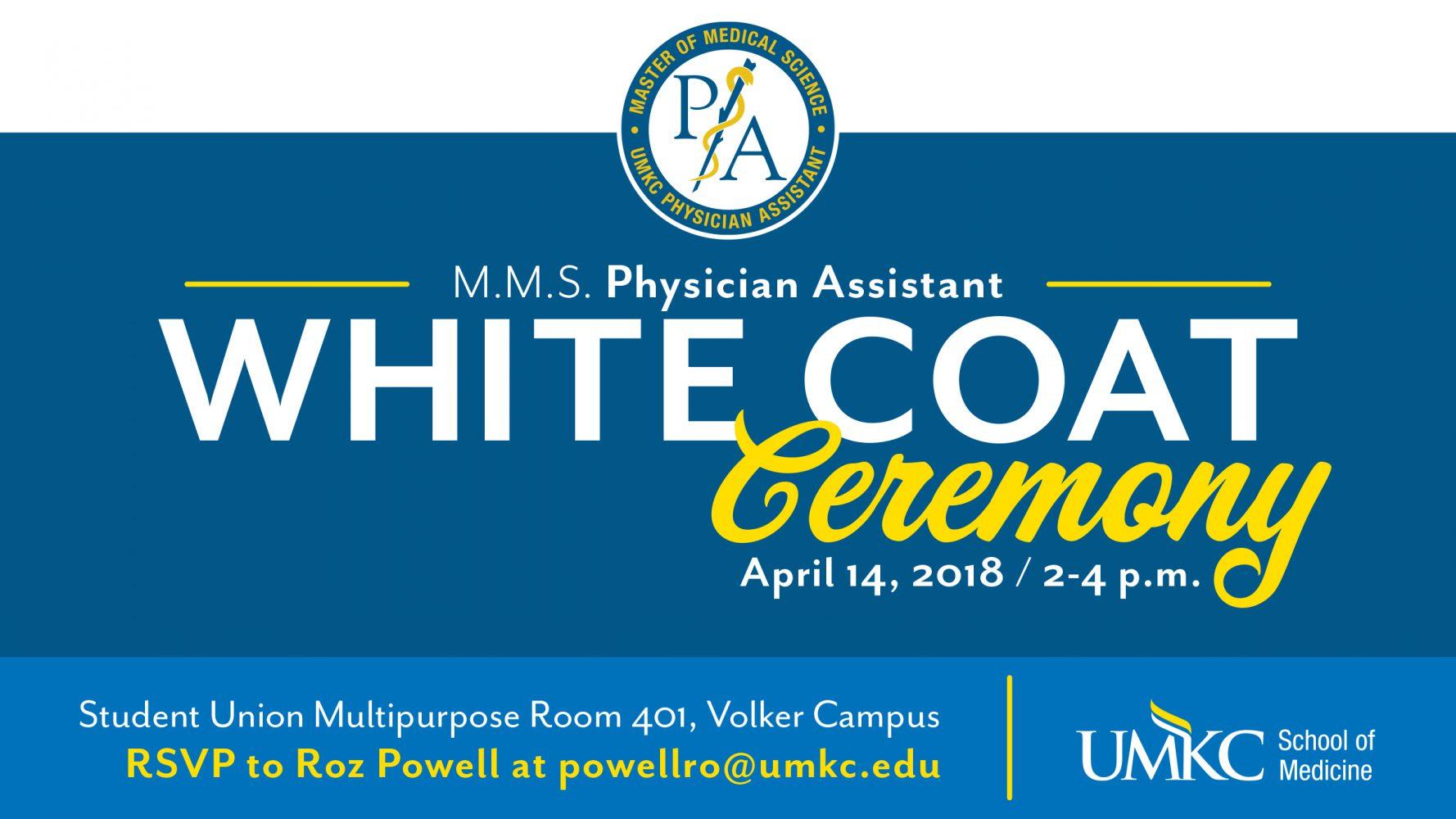 2018 PA White Coat Ceremony